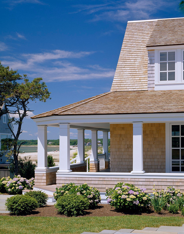 Porch. Beach house porch. Beach house front porch. Coastal home front porch. #Porch Polhemus Savery DaSilva.