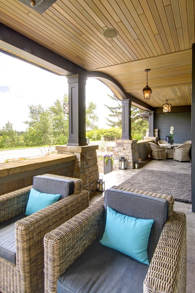 Porch. Front Porch Ideas. Great porch decor and furniture ideas. #Porch #PorchDecor #PorchFurniture #FrontPorch