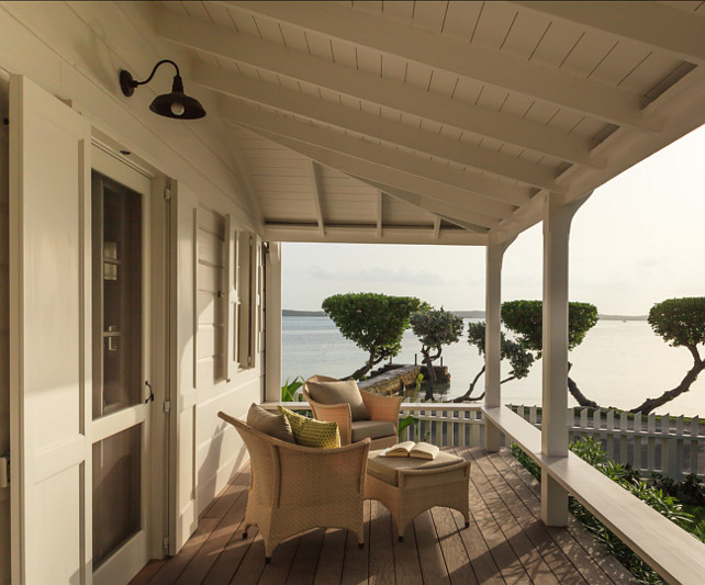 Porch. Inpiring porch. I have met anyone who doesn't love a front porch, now at ocean view to that! #Porch #FrontPorch