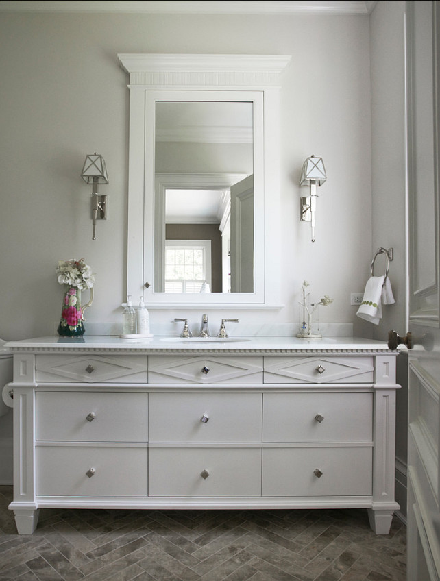 Powder Room. Beautiful Powder Room Design. #Powderroom #Bathroom