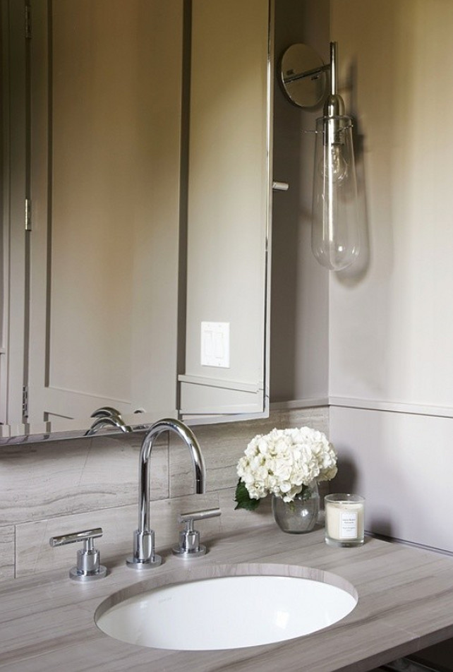 Powder Room. Powder Room Ideas. Powder Room Design. Powder Room Design. Powder Room Sconces. #PowderRoom Calla McNamara Interiors.