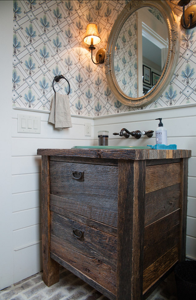 Powder Room Power Room Ideas Rustic Powder Room Design