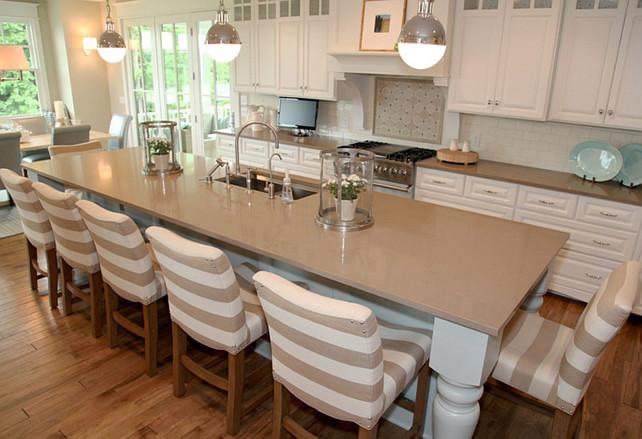 Quartz Kitchen Countertop. Kitchen Quartz Countertop Ideas. Kitchen Quartz Counter Top. #Kitchen #Quartz #KitchenQuartz #KitchenQuartzCountertop   Dwellings Interior Design.