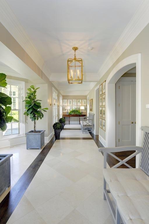 Long Foyer Ideas : Stone manor home bunch interior design ideas