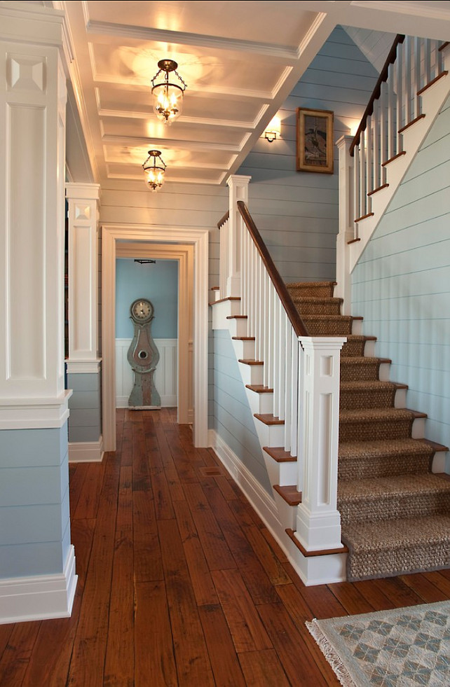 "Ralph Lauren Paint Color. ""Ralph Lauren Cloud Blue VM134"". #RalphLauren #CloudBlue VM134. Phillip W Smith General Contractor, Inc."