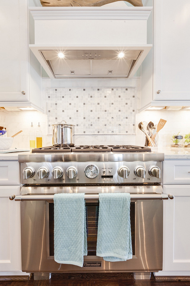 Range. Kitchen Range Ideas. Beautiful and affordable kitchen range. Choosing the right range for your kitchen. #Kitchen #Range 2015 Coastal Virginia Magazine Idea House.