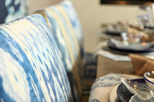 Ranjani by Echo Design from Kravet. Blue and white fabric Ranjani by Echo Design from Kravet. #Ranjani #EchoDesign #Kravet Michele Skinner