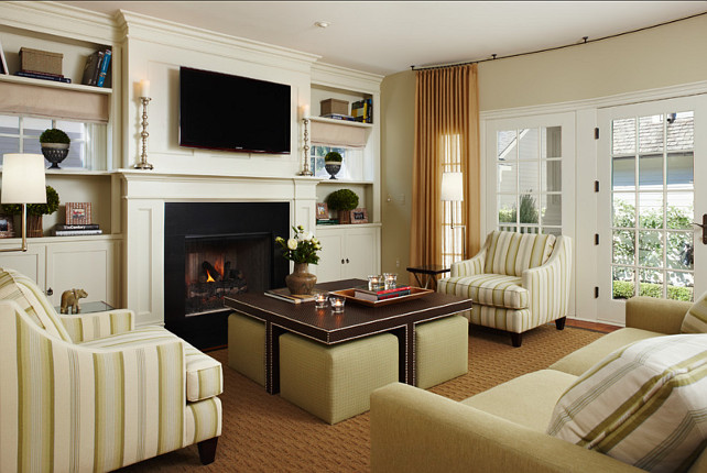 Living Room Design. Classic Living Room Design. #LivingRoom #Classic #Interiors