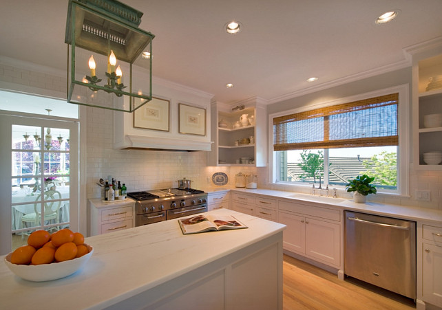 White Kitchen. White Kitchen Ideas. #WhiteKitchen