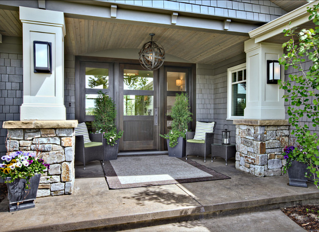 Create a welcoming entrance with a new front door home for Outdoor entryway decorating ideas