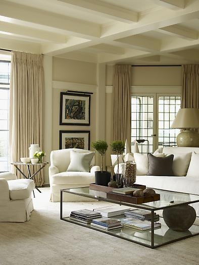 White Curtain Ideas For Living Room