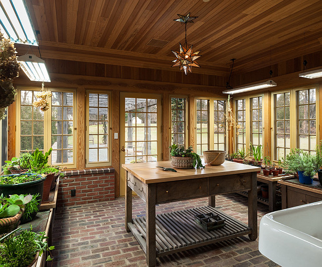 Potting shed interior design joy studio design gallery for Brick garden room designs