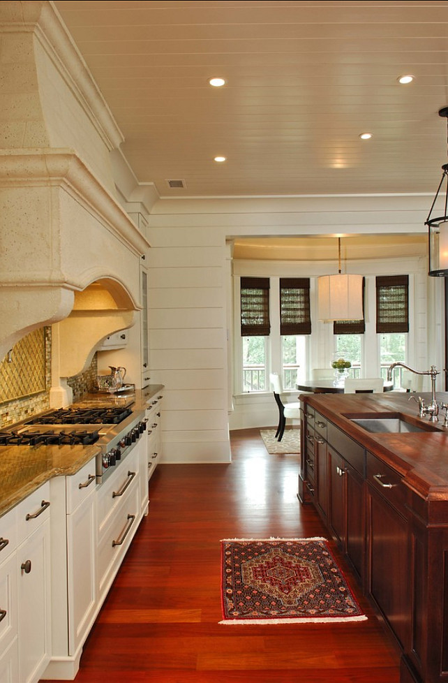 Sherwin Williams Alabaster 7008 Off-White Kitchen Paint Color. #SherwinWilliams #Alabaster #7008 Phillip W Smith General Contractor, Inc.