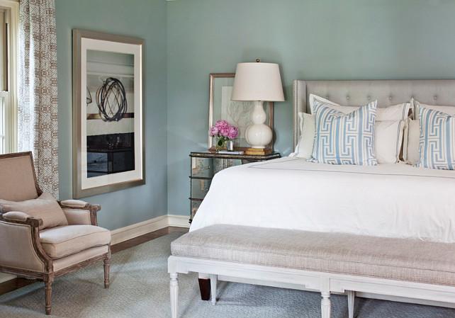 Sherwin Williams Silvermist Sw 7621 Bedroom Paint Color