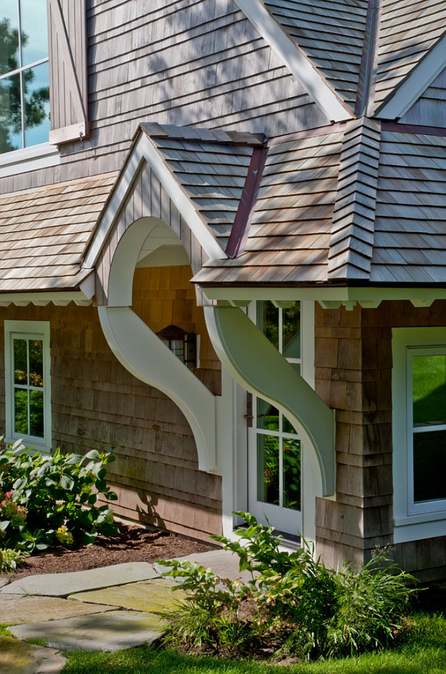 Shingle Exterior Ideas. Shingle Home Exterior Ideas. #ShingleHomes #ShingleExterior Polhemus Savery DaSilva.