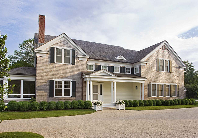 Shingle Home Exterior. Shingle Home Exterior Ideas. Shingle Home Exterior Design. #ShingleHomeExterior John Hummel & Associates.