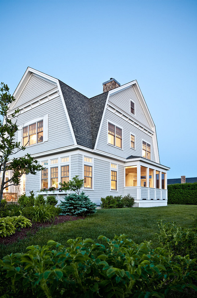 Shingle Homes Paint Color #ShingleHomesPaintColor Bowley Builders