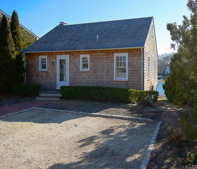 Shingle Sag Harbor Cottage with Coastal Interiors. Small Shingle Cottage with Coastal Interiors. #ShingleCottage #CoastalInteriors