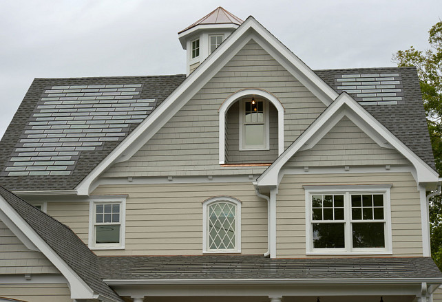 Shingle Solar Power Roof