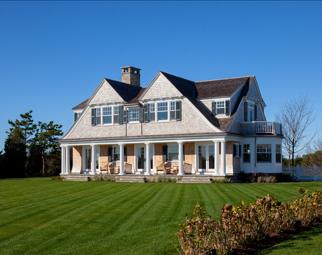 Shingle Styled Homes. This shingle styled home is beautiful inside and out. #ShingleStyledHome