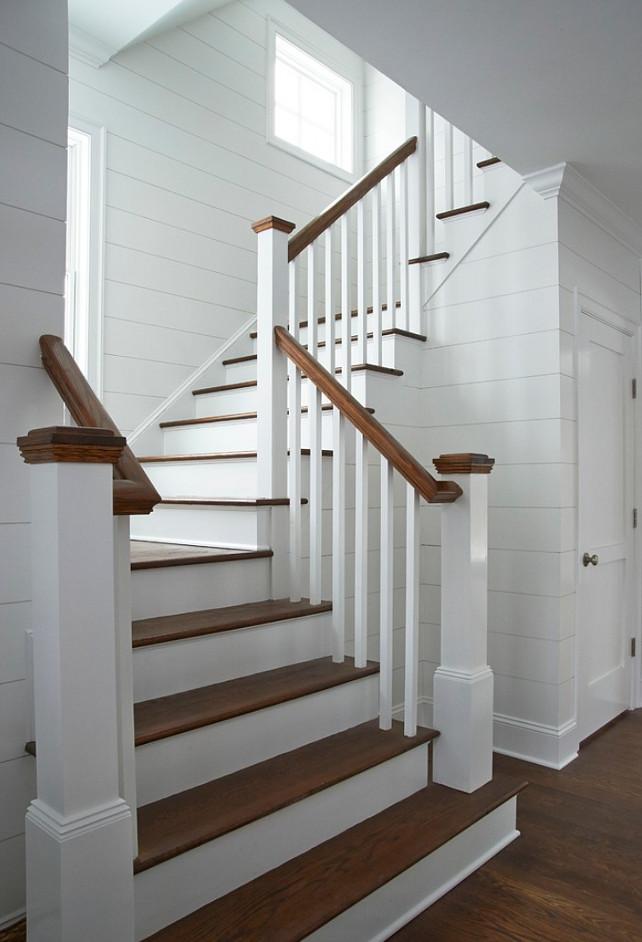 Shiplap Wall. Shiplap Design. Shiplap Wall Design. Shiplap Foyer #Shiplap  Calla McNamara Interiors.