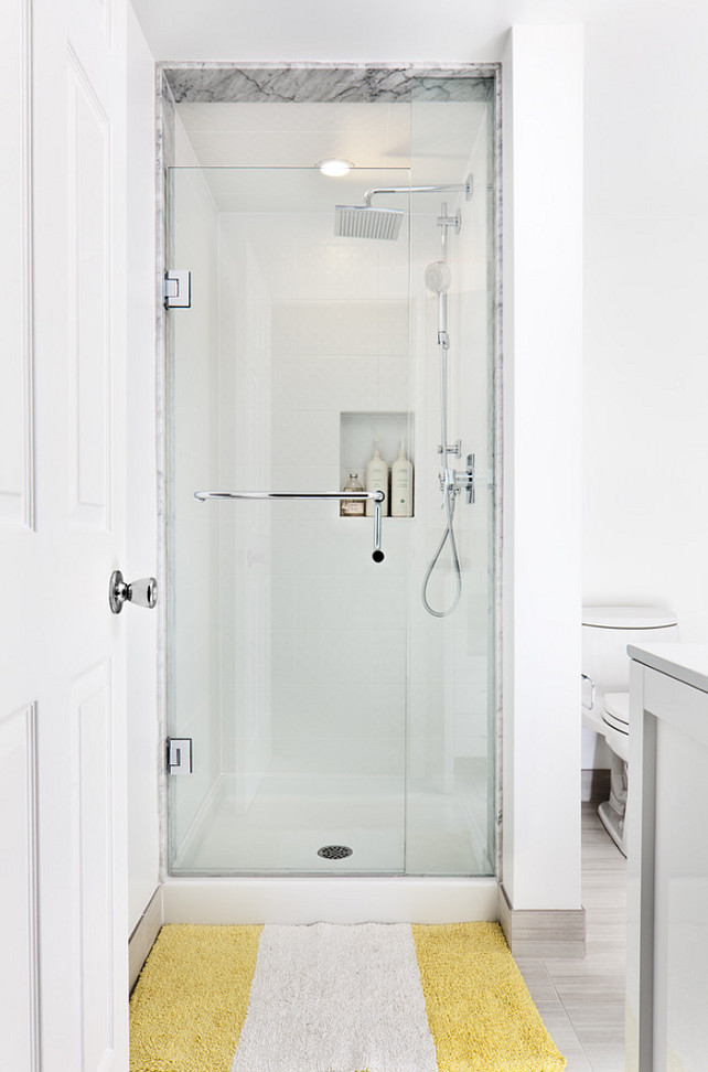 Shower. Small Shower. Small Shower Ideas. Small Shower Bathroom Layout. #SmallShower #Shower Rad Design Inc.