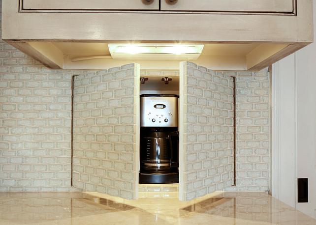 Kitchen Appliance Storage