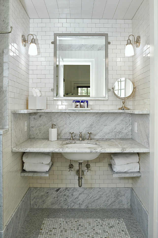 Small Bathroom Sink Ideas. John Hummel & Associates.