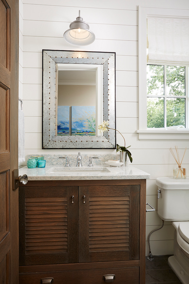 Small Bathroom. Small Bathroom Vanity. Small Bathroom Vanity Ideas. #Bathroom #Small #SmallBathroom #Vanity Blend Interior Design.