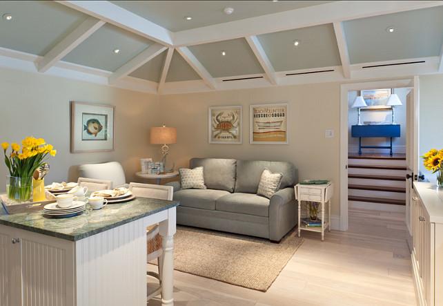 Small Interiors. Small Interior Decor Ideas. Small Spaces. Small Family Room Decor Ideas. AlliKristé Custom Cabinetry and Kitchen Design.