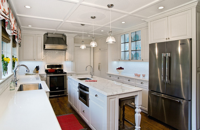 Small Kitchen Ideas. Studio M Interior Design, Inc.