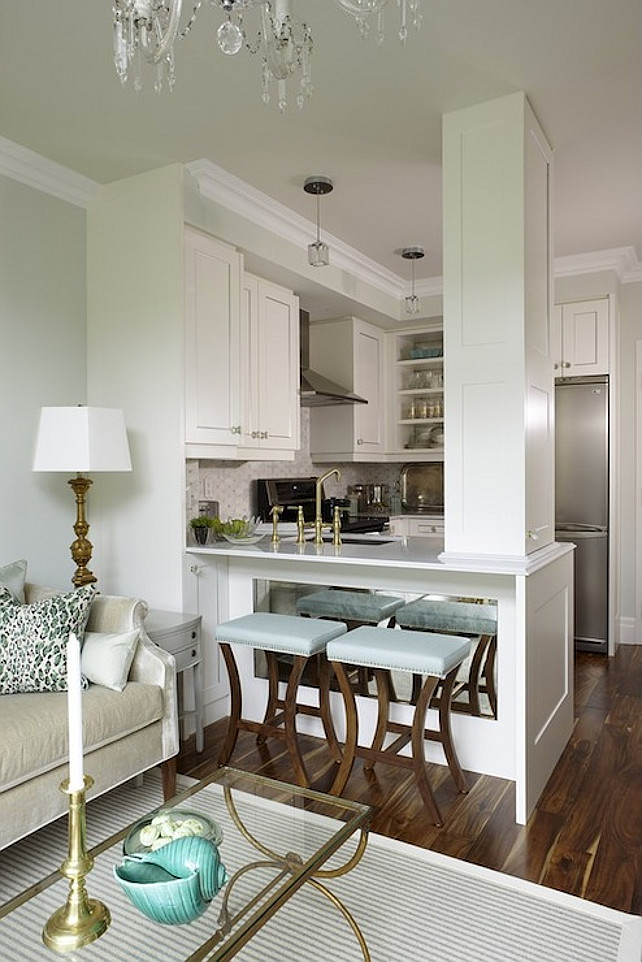 Small Kitchen. Small White Kitchen. Small Kitchen Desig. Sarah Richardson Small Kitchen. #SmallKitchen #Kitchen #SarahRichardson  Sarah Richardson Design