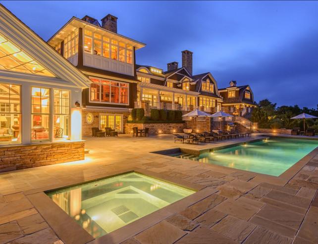 Pool Ideas. Backyard with pool. #Pool #Backyard
