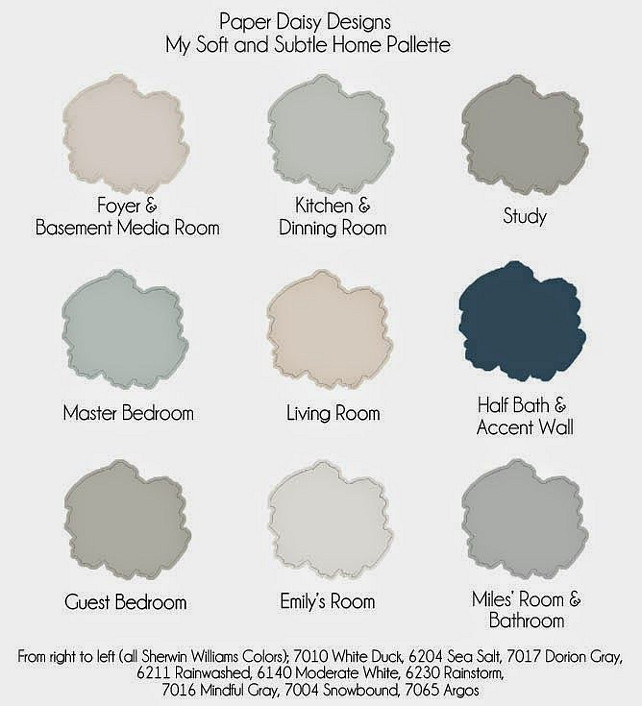 interior paint color and color palette ideas with pictures home. Black Bedroom Furniture Sets. Home Design Ideas
