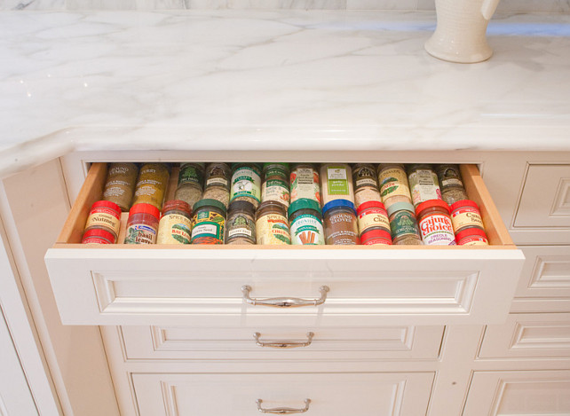 Spice Storage Ideas. Kitchen Spice Storage Ideas. #SpiceStorage #KitchenSpiceStorage Kitchen Design Concepts