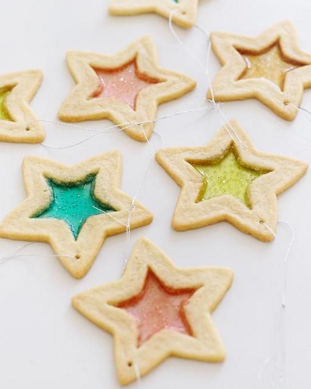Glass Dog Christmas Ornaments