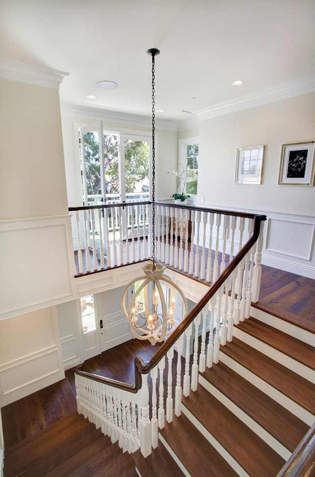 Staircase Design. Staircase Design Ideas. Staircase Lighting. The lighting is by Currey and Co.  #Staircase #StaircaseDesignIdeas #StaircaseDesign Dtm Interiors.