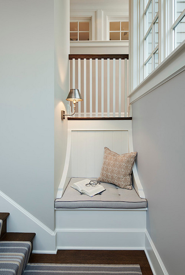 Staircase Window Seat #StaircaseWindowSeat #Staircase #WindowSeat   James Thomas Chicago