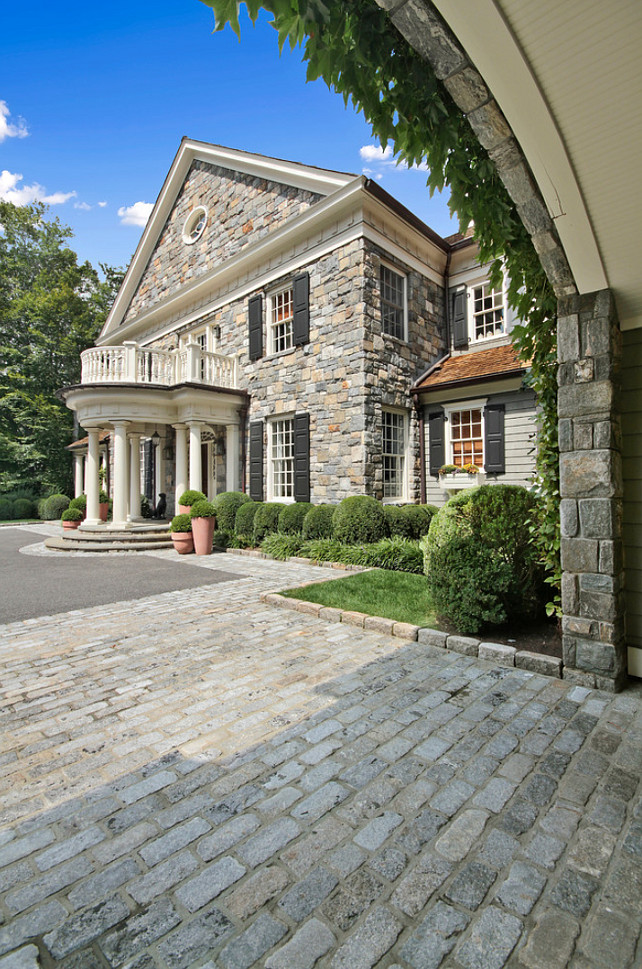 Stone Homes. Stone Home Facade Ideas. Stone Home Ideas. Traditional Stone Home. #StoneHome   Significant Homes LLC.