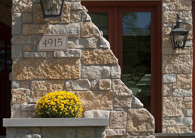 Stone Houses. Beautiful Stone House Architecture. #StoneHouse #StoneEXTERIOR