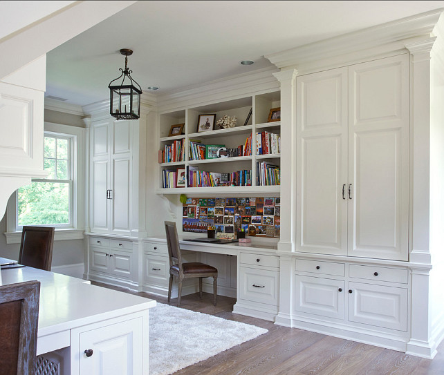 Study Room Design Ideas. This study is perfect for kids. #StudyDesign #Study #Interiors #Builtins