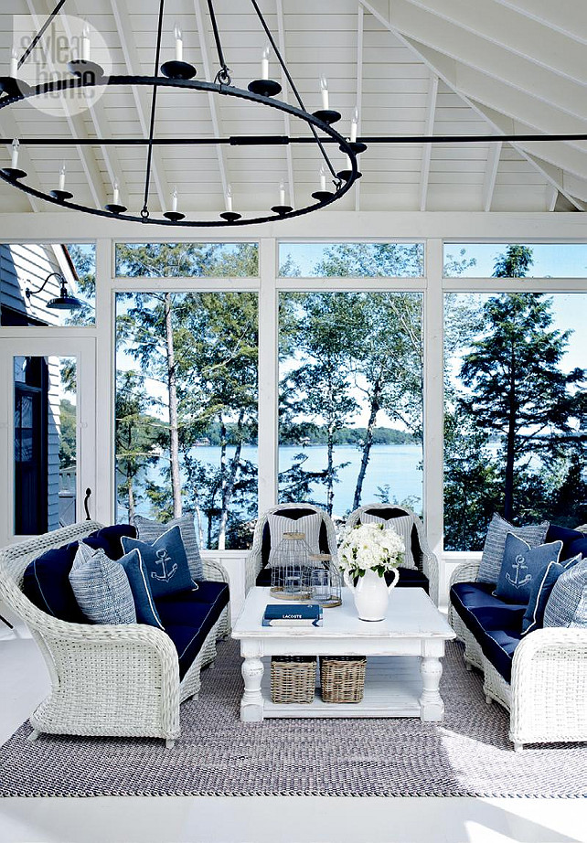High Quality Decorating A Sunroom On A Budget American Hwy