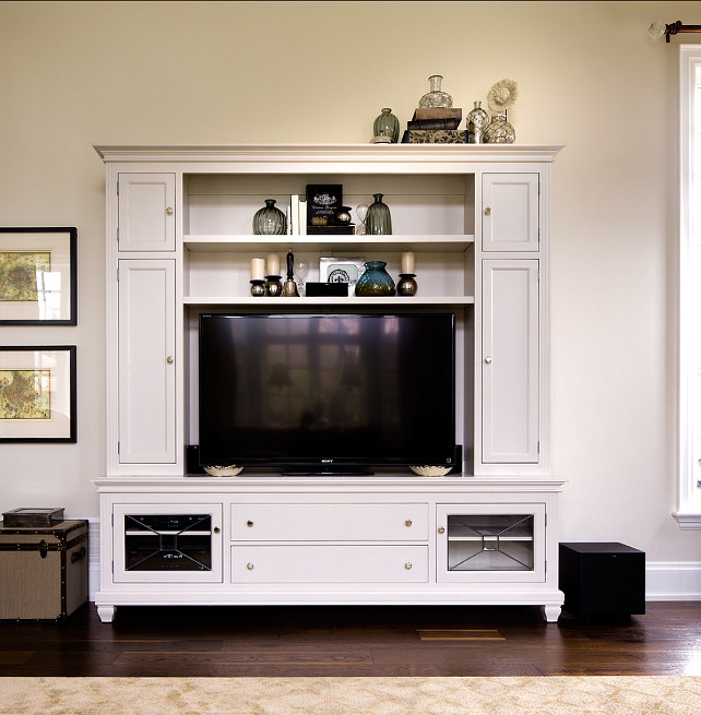 TV Cabinet Ideas. This TV Cabinet is stylish and useful. Cabinet by Brice's Furniture. #TVCabinet #MediaCabinet #CabinetIdeas #Cabinet Designed by Jane Lockhar.