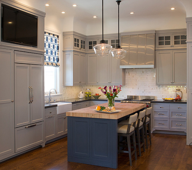 Ideas For Tops Of Kitchen Cabinets: Home Bunch Interior Design Ideas