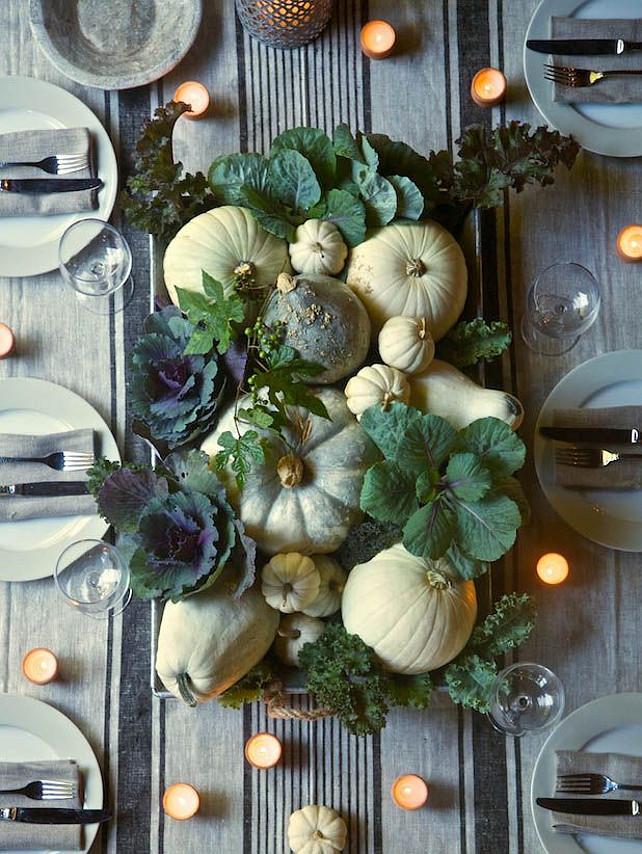 Thanksgiving Centerpiece Ideas. Via Pinterest.