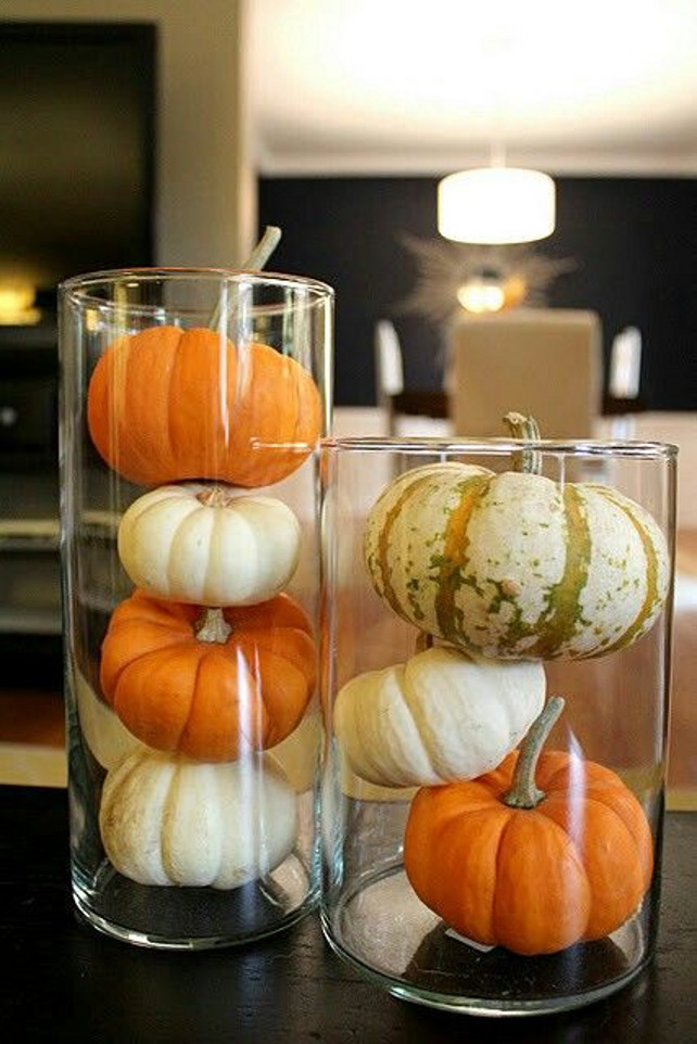 Easy and Fast Thanksgiving Fall Decor.