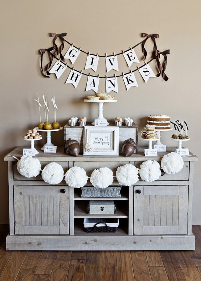 Thanksgiving Home Decorations Ideas Part - 41: Thanksgiving Printables. Free Thanksgiving Printables. Photo By Jessica  Downey. Via The Tomkat Studio