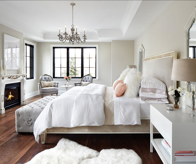 Feminine Bedroom Design. Bedroom Design. #BedroomDesign #FeminineDecor
