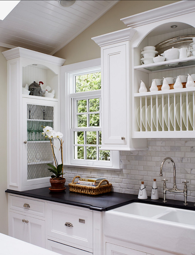 The color of the cabinets are benjamin moore s white 001