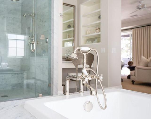 Traditional Bathroom Bath Faucet. Kelly Nutt Design.